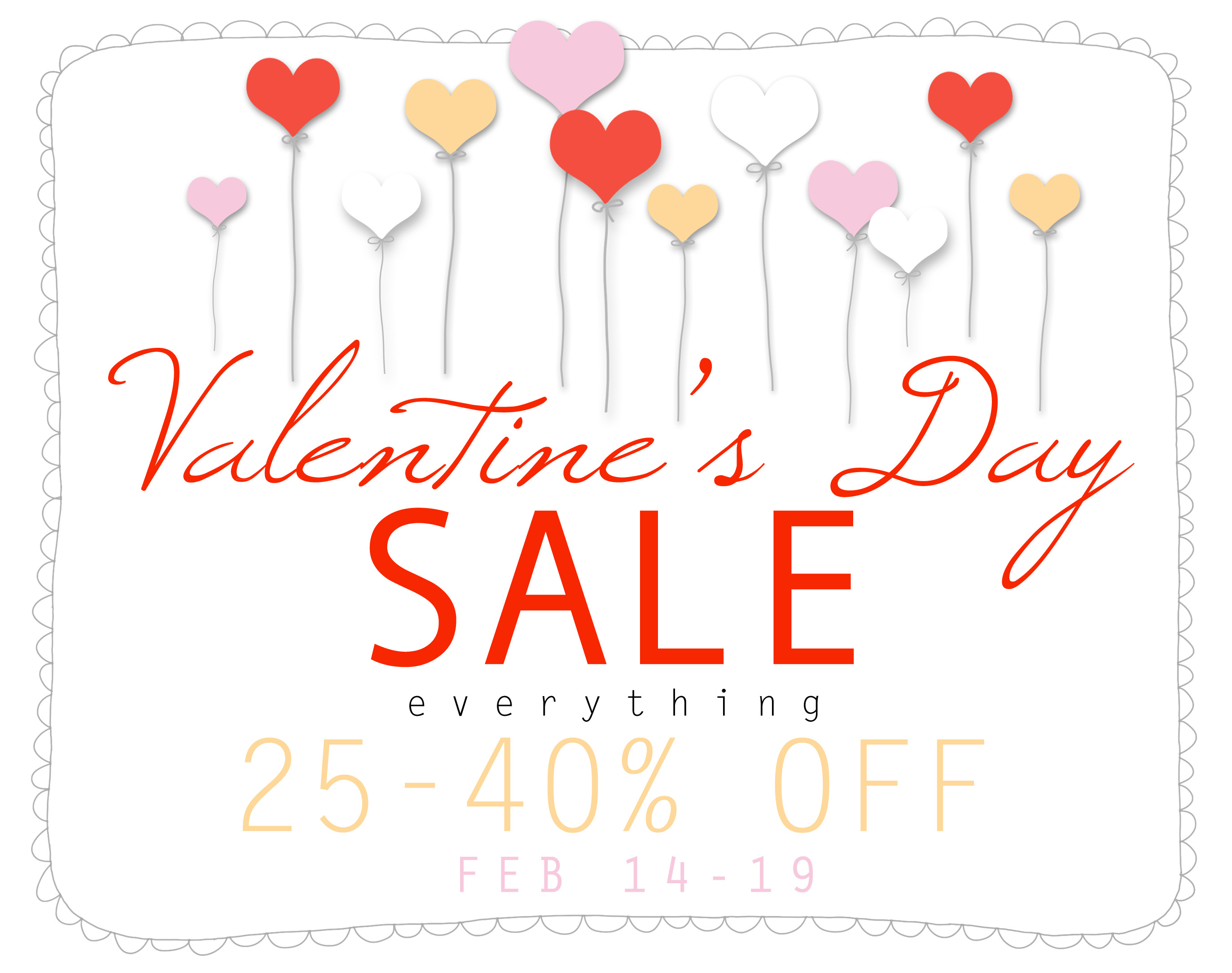 no - Valentine Sale