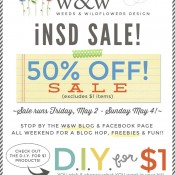 We are loving iNSD … Last Day of the 50% off Sale